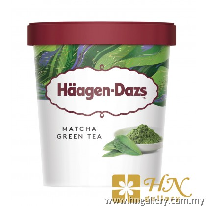 Ready Stock Haagen-Dazs Matcha Green Tea Mini Cup 81g/100ml (Klang Valley Only)