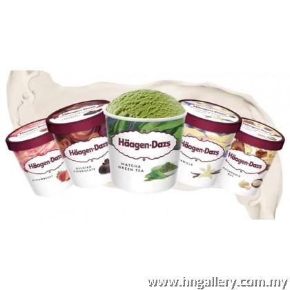 Ready Stock Haagen-Dazs Mango & Raspberry Mini Cup 81g/100ml (Klang Valley Only)