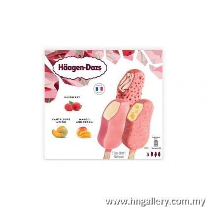 Ready Stock Haagen-Dazs Mango And Cream Stickbar 69g/80ml (Klang Valley Only)