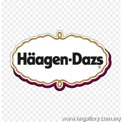 Ready Stock Haagen-Dazs White Peach & Raspberry Mini Cup 81g/100ml (Klang Valley Only)