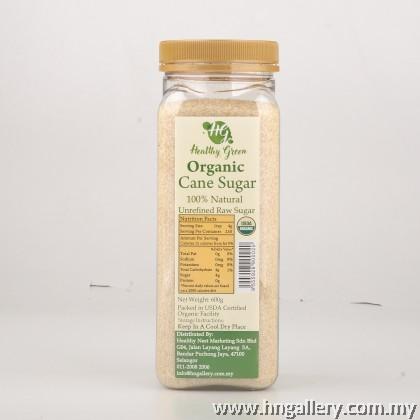 Healthy Green Organic Cane Sugar 500g