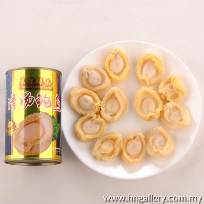 Dong Huang Zhen Pin Abalone in Brine 12pcs  东皇臻品清汤鲍鱼12粒 ( 425g )