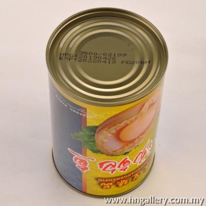 Dong Huang Zhen Pin Abalone in Brine 12pcs  东皇臻品 清汤 罐头12头鲍鱼 ( 425g )