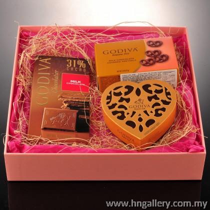 Premium Godiva Chocolate Gift Set A