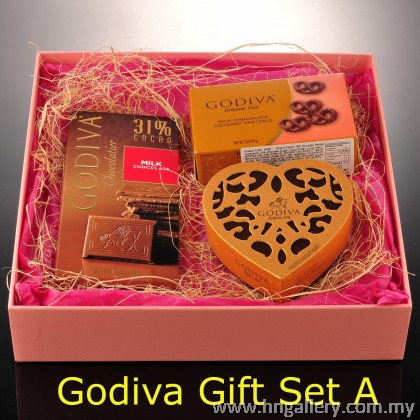 Premium Godiva Chocolate Gift Set A
