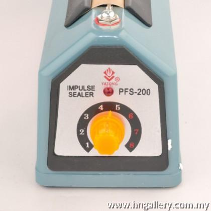 Impulse Plastic Sealer 200mm