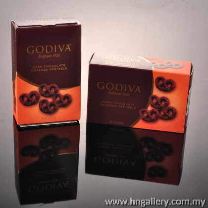 Godiva Dark Chocolate Covered Pretzels