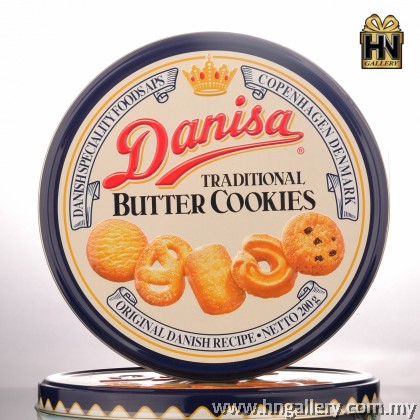 Danisa Butter Cookies In Tin 200g x 2