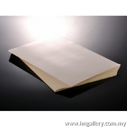 10/50/100 pcs Ready Stock - Glossy / Matte A4 Sticker Paper Inkjet / Laser Printing