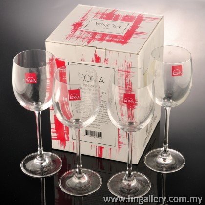 Rona BIN 2911 White Wine Glass Set of 4 260ml