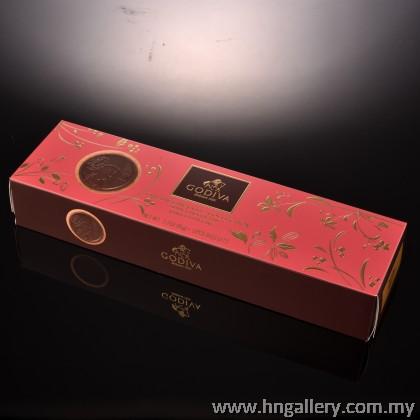 Godiva Prestige Collection Dark Chocolate WIth Vanilla Filling Biscuits 12pcs