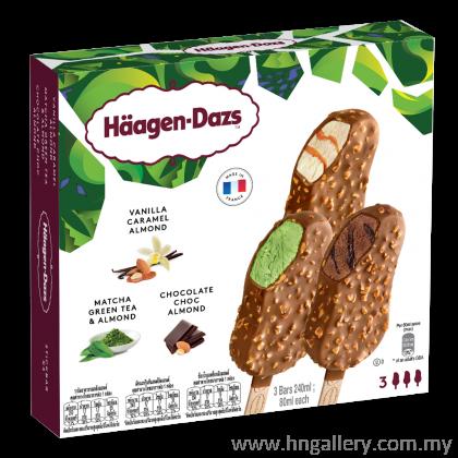 Ready Stock Haagen-Dazs Vanilla Green Tea Chocolate Multipack 3 x 69g/80ml (Klang Vally only)