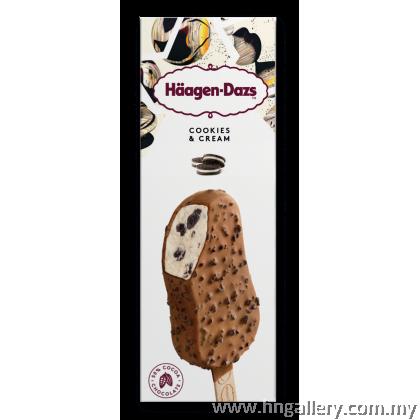 Ready Stock-Haagen-Dazs Chocolate Choc Almond Stickbar 69g/80ml (Klang Valley Only)